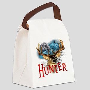 Hunter take your best shot Deer w Canvas Lunch Bag