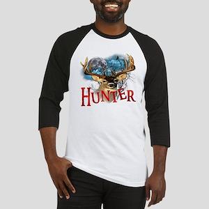 Hunter take your best shot Deer wh Baseball Jersey
