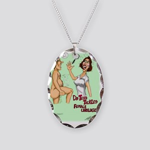 Tess Tickles Necklace Oval Charm