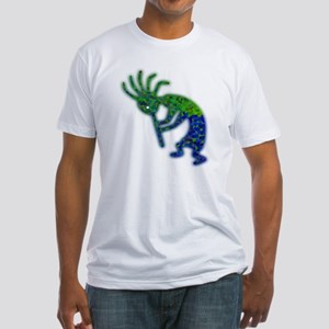 The Green Kokopelli Fitted T-Shirt
