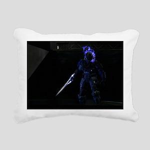 Halo Character Rectangular Canvas Pillow