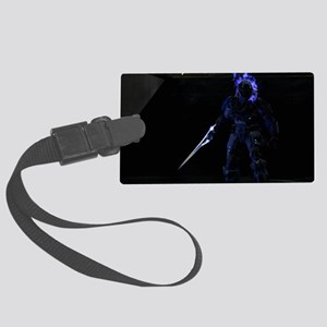Halo Character Large Luggage Tag