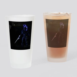 Halo Character Drinking Glass