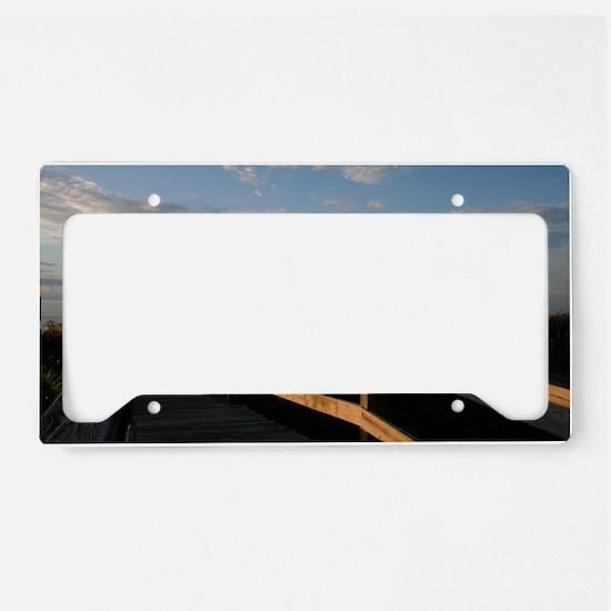 Hilton Head Boardwalk License Plate Holder