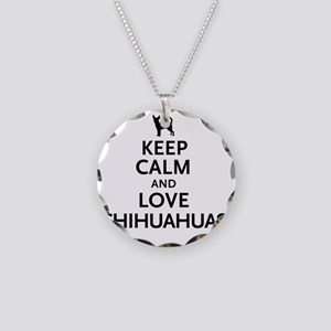 keepcalm Necklace Circle Charm