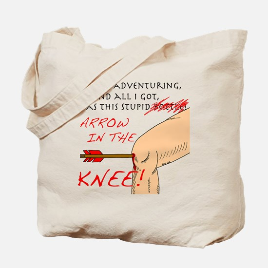 arrowknee5 Tote Bag