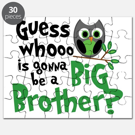 Owl green PNG Puzzle