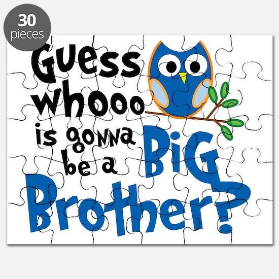 OWL Blue PNG Puzzle
