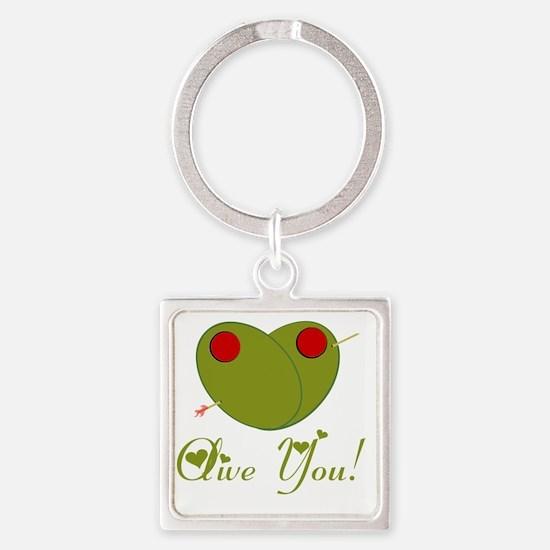 oliveyou Square Keychain