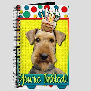InviteCupcakeAiredale Journal