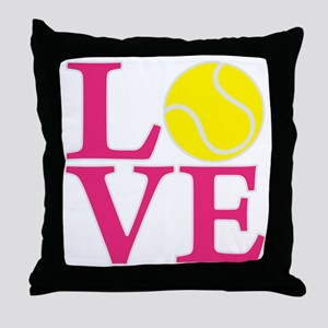 melon2, Tennis LOVE Throw Pillow