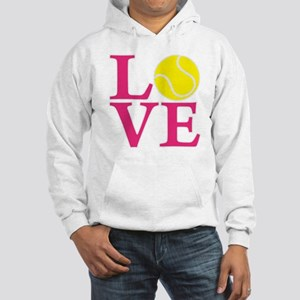 melon2, Tennis LOVE Hooded Sweatshirt