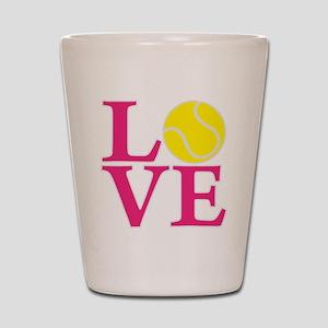 melon2, Tennis LOVE Shot Glass