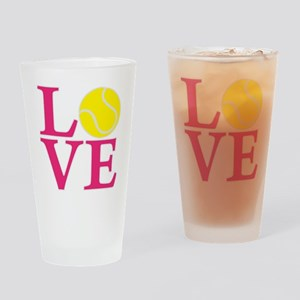 melon2, Tennis LOVE Drinking Glass