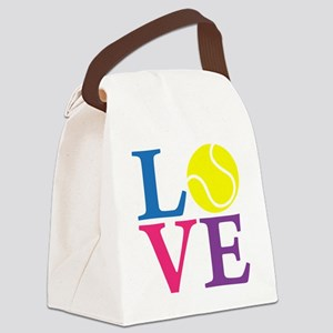 multi2, Tennis LOVE Canvas Lunch Bag