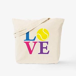 multi2, Tennis LOVE Tote Bag