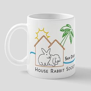 Rabbit in the House Mug