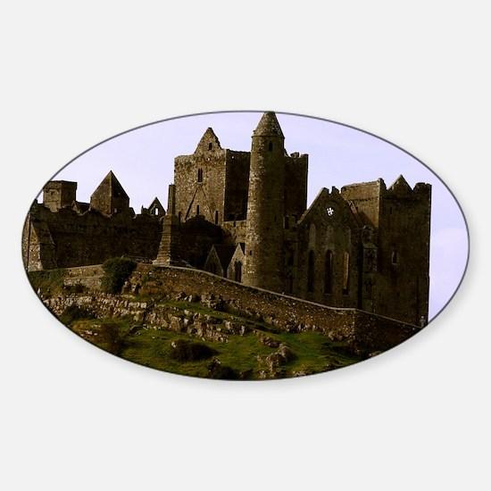 Rock of Cashel Sticker (Oval)