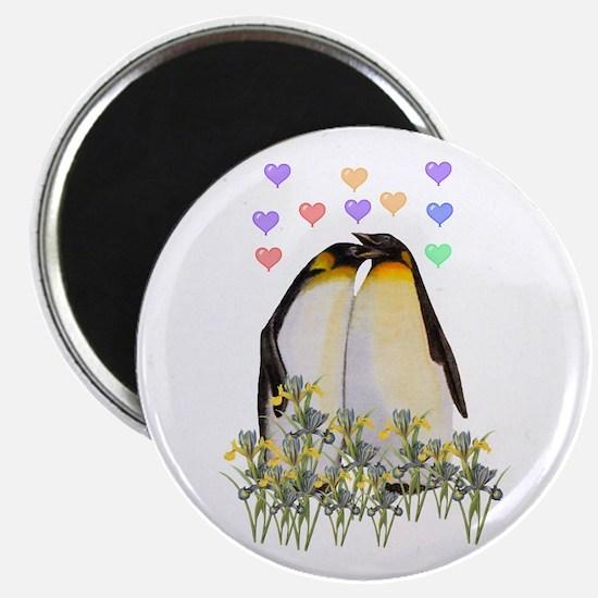 """Penguin Love 2.25"""" Magnet (10 pack)"""
