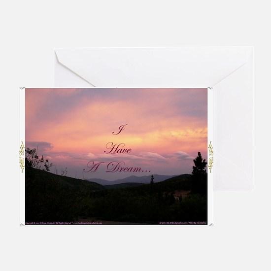 IHaveADream5 Greeting Card