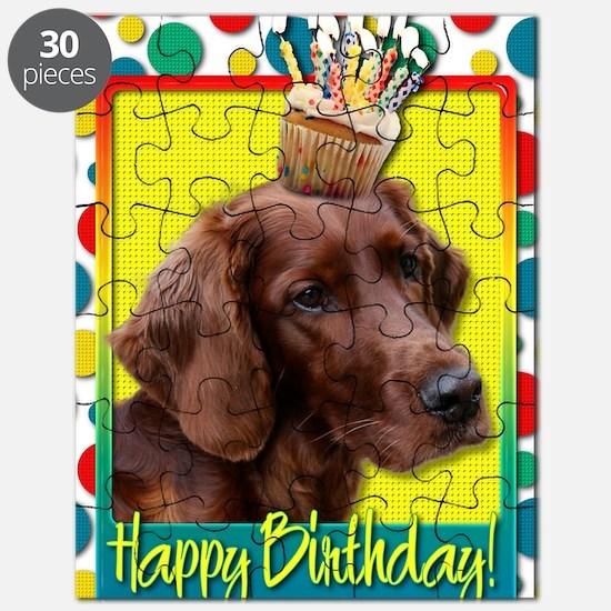 BirthdayCupcakeIrishSetter Puzzle