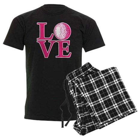 melon2, Golf LOVE Men's Dark Pajamas