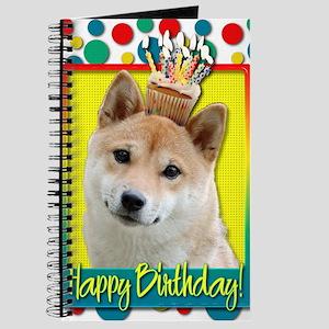 BirthdayCupcakeShibaInuBlonde Journal