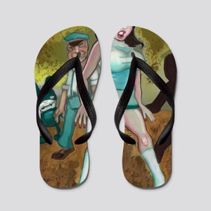 mallory-illo-poster-cafepress Flip Flops