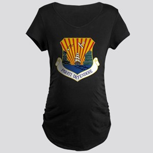 6th AMW - Parati Defendere Maternity Dark T-Shirt