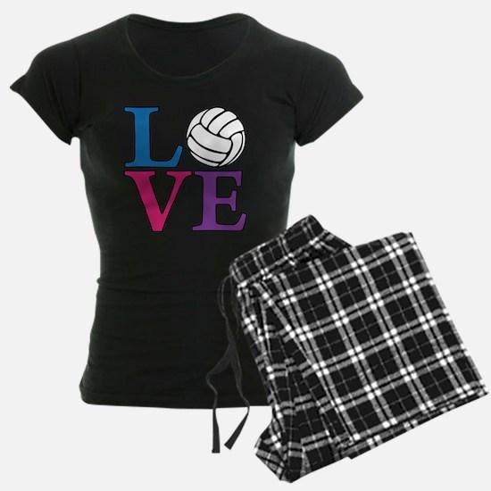 multi, Volleyball LOVE Pajamas