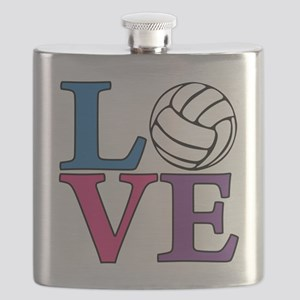 multi, Volleyball LOVE Flask