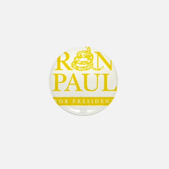 Ron_Paul_Gadsden-gold Mini Button