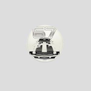 Camaro Black 1967 Mini Button