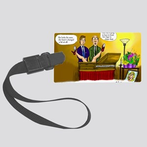 Funeral Large Luggage Tag