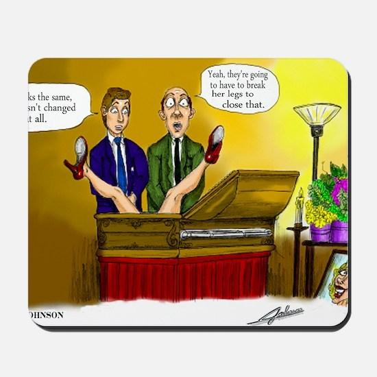 Funeral Mousepad