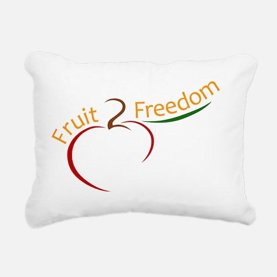 fruit_logo_max-01 Rectangular Canvas Pillow