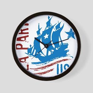 Tea PartyUSA Wall Clock