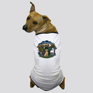Woodland Magic - Yellow Lab 8 Dog T-Shirt