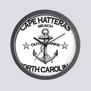 CAPE HATTERAS NORTH CAROLINA copy Wall Clock