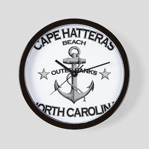 CAPE HATTERAS NORTH CAROLINA copy Wall Clock