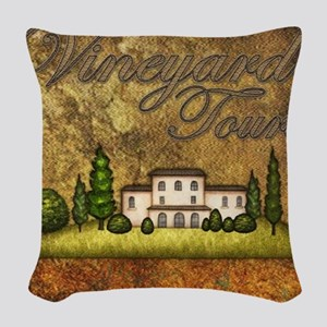 Wine Best Seller Woven Throw Pillow
