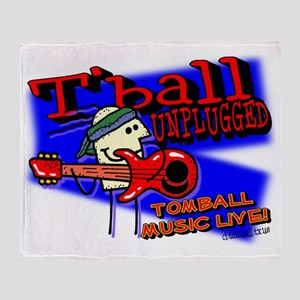 Tomball unplugged Throw Blanket
