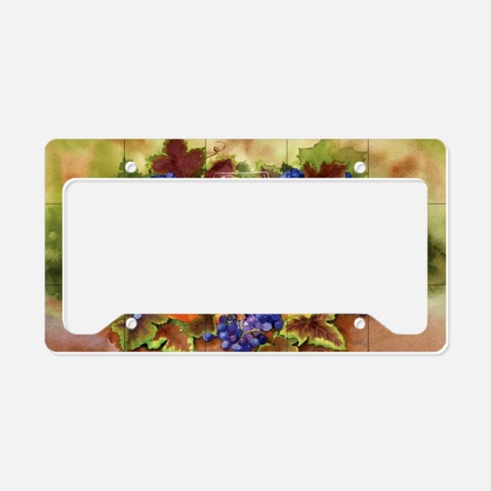 Best Seller Grape License Plate Holder