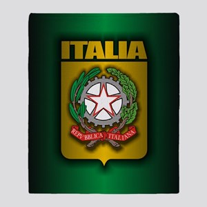 Italian Steel (cafe iPad2) Throw Blanket