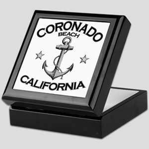 CORONADO BEACH CALIFORNIA copy Keepsake Box