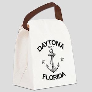 DAYTONA BEACH FLORIDA copy Canvas Lunch Bag