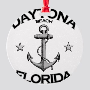 DAYTONA BEACH FLORIDA copy Round Ornament