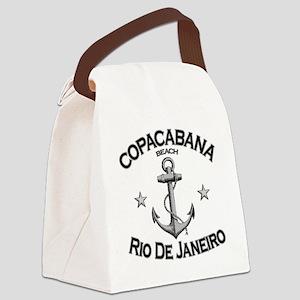 Copacabana beach rio de janeiro b Canvas Lunch Bag
