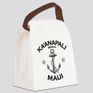 KAANAPALI BEACH MAUI copy Canvas Lunch Bag