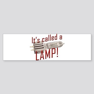 Lamp Bumper Sticker